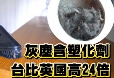室內灰塵 竟含毒化物 5成未列管 吸入體內損健康