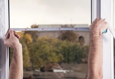 ⭐️【教學】如何自行丈量紗窗尺寸⭐️