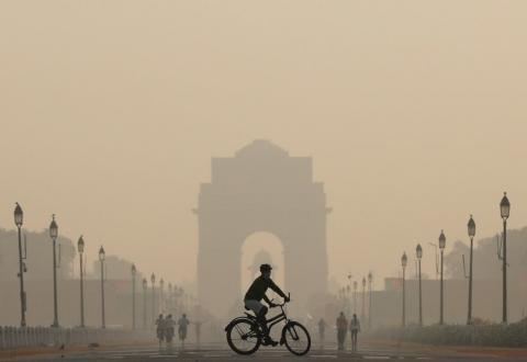 印度空氣汙染嚴重 40%民眾壽命將減9年